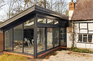 new-build-aluminium-sliding-doors-and-windows-worcestershire